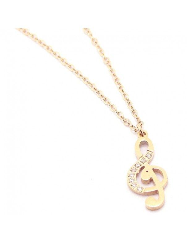 Collar Anartxy Acero Mujer COA144D