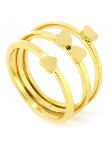 Anillo Anartxy Acero Mujer AAN207