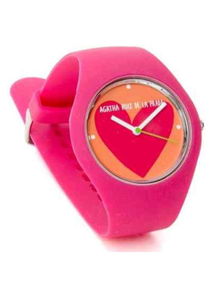Reloj Agatha Ruiz de la Prada Niña Fucsia Watch Polo AGR114