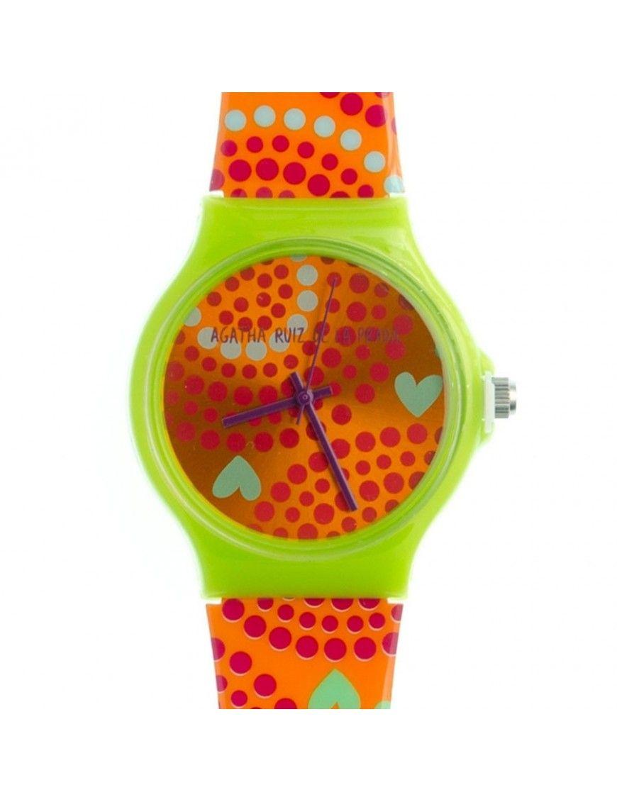 Reloj Agatha Ruiz de la Prada Mujer Orange Big Watch AGR174
