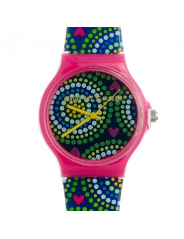 Comprar Reloj Agatha Ruiz de la Prada Mujer Blue Circules Big Watch AGR175 online
