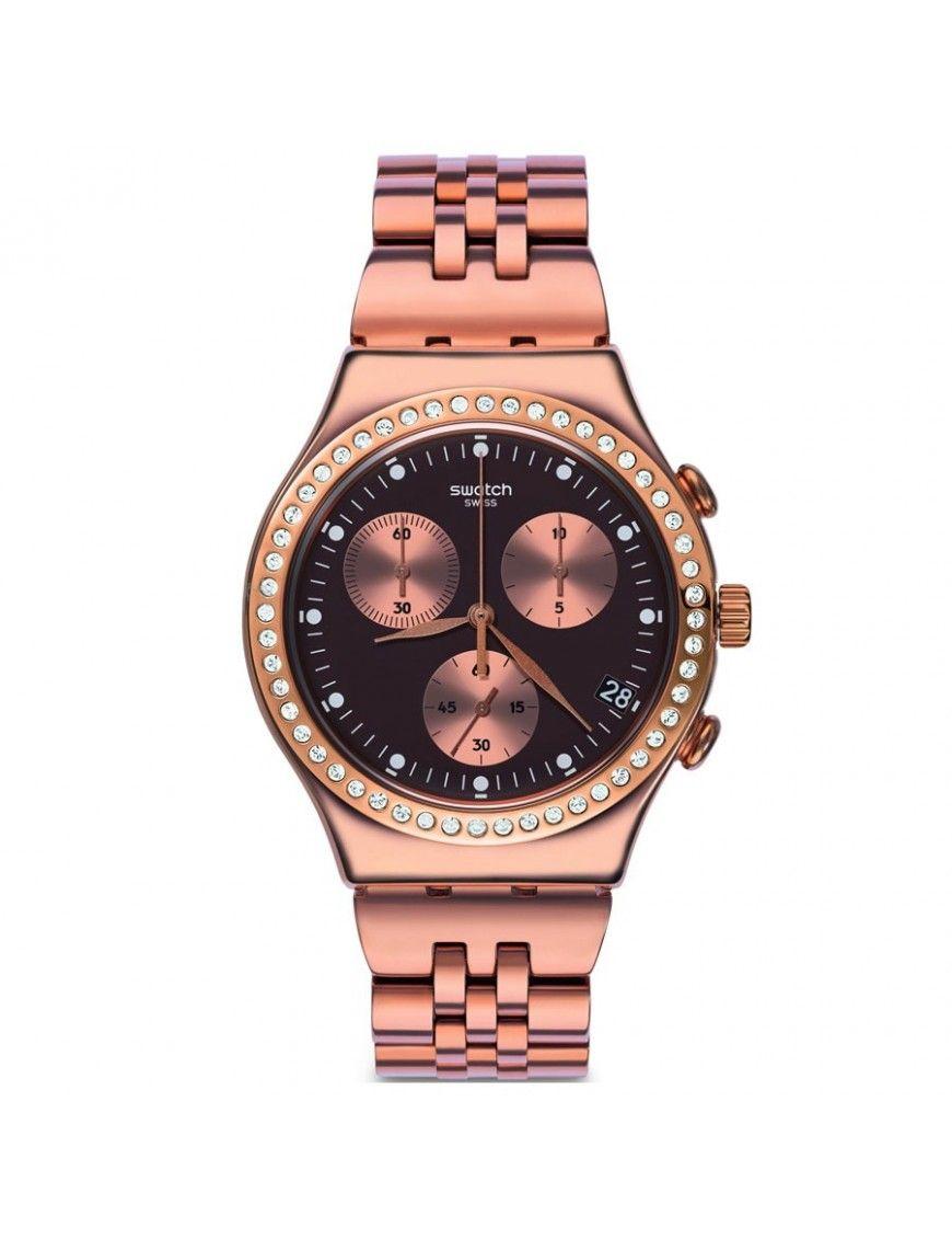 Reloj Swatch Mujer Precious Rose Cronógrafo YCG414G