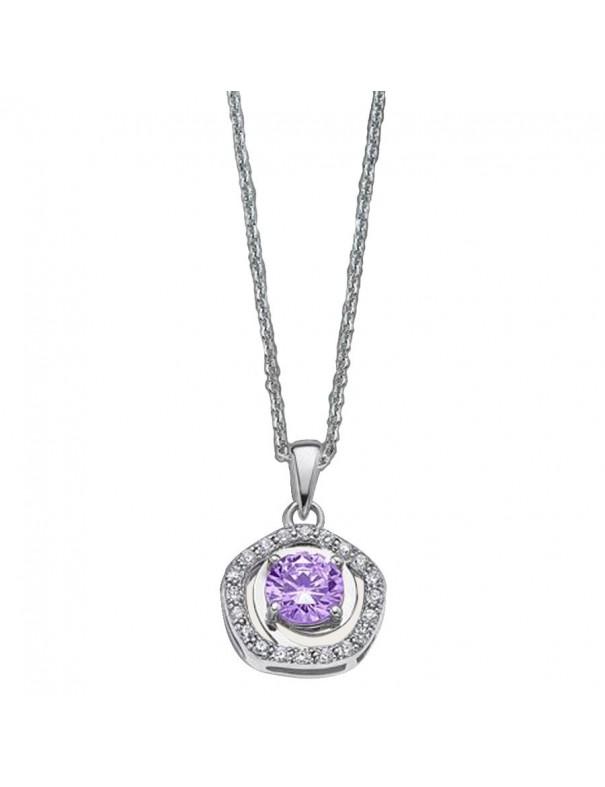 Collar Lotus Silver Plata Mujer LP1607-1/2