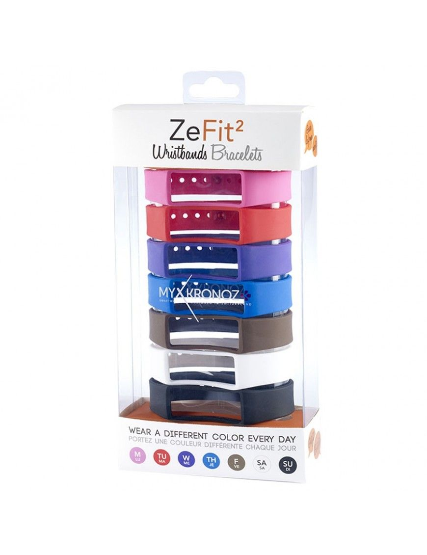 Set pulseras MyKronoz ZeFit Wristbands FIT3-HR3-CLASIC