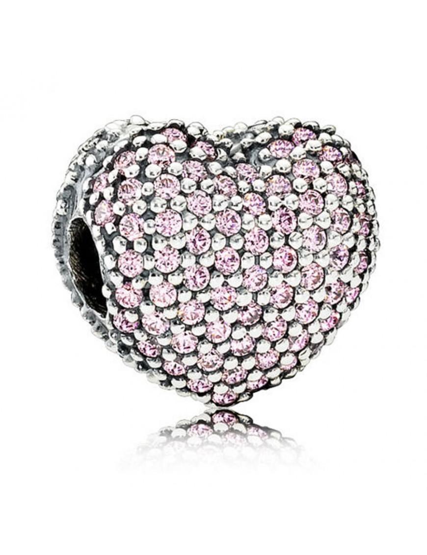 Charm Clip Pandora Plata Abre mi corazón 791427PCZ