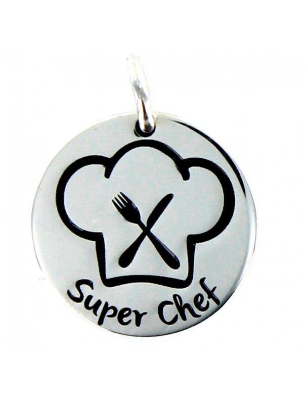 Colgante Plata Mujer Super Chef 9094990