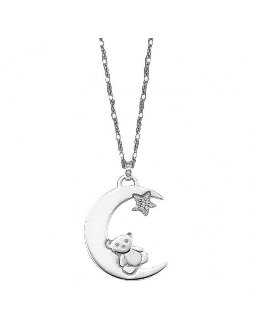 Collar Lotus Silver Plata Mujer LP1603-1/1