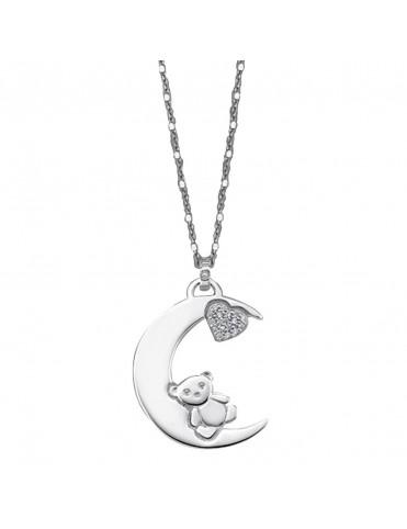 Collar Lotus Silver Plata Mujer LP1603-1/2