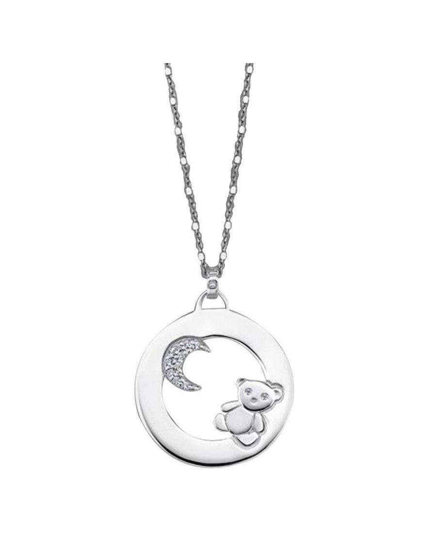Collar Lotus Silver Plata Mujer LP1604-1/2