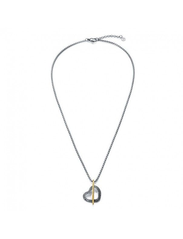 Collar Viceroy Acero Mujer 80010C09012