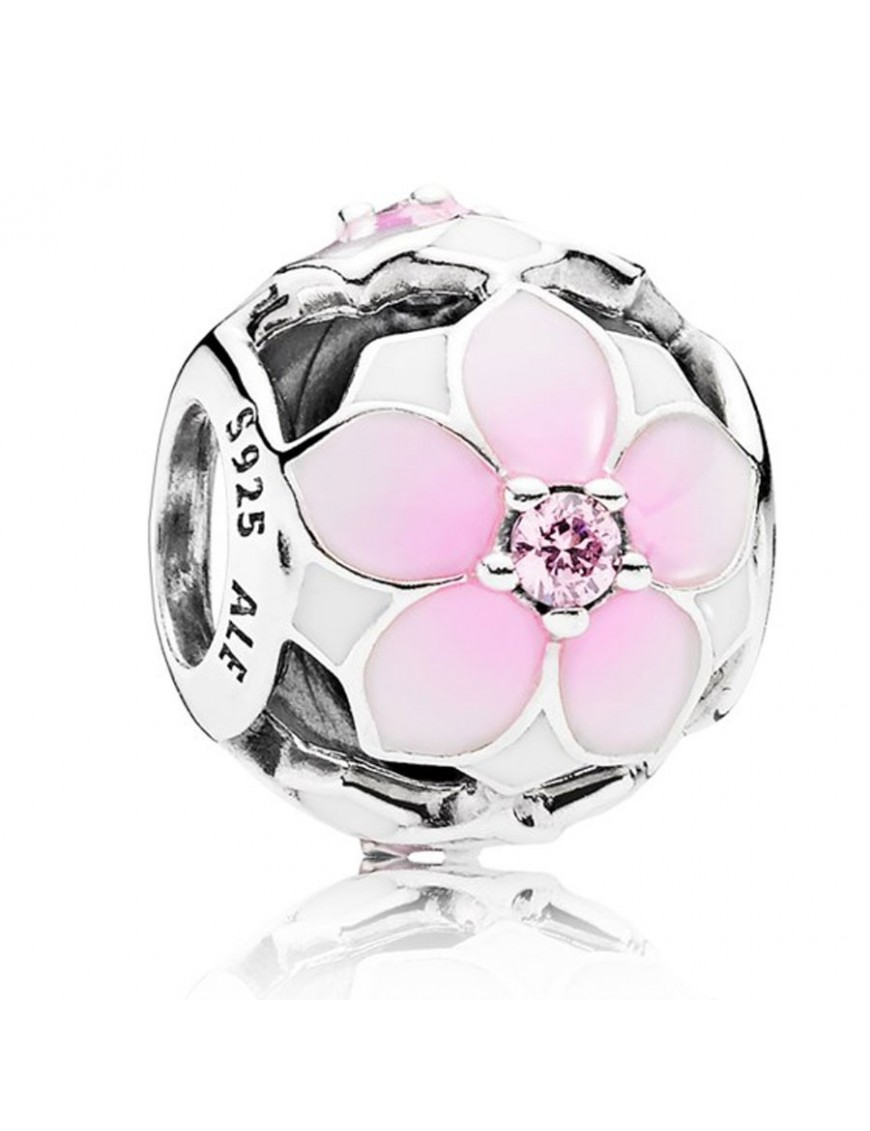 Charm Pandora Plata Florecer Magnolia 792087PCZ
