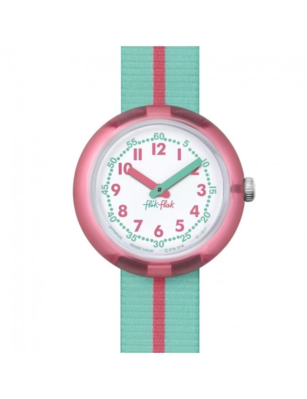 Reloj Flik Flak Niña Pink Band FPNP020