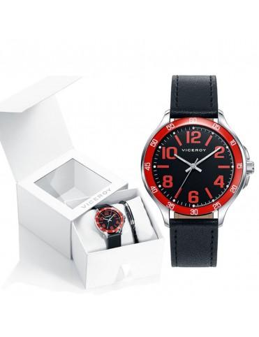 Comprar Pack Viceroy Reloj + Pulsera Niño 401063-55 online