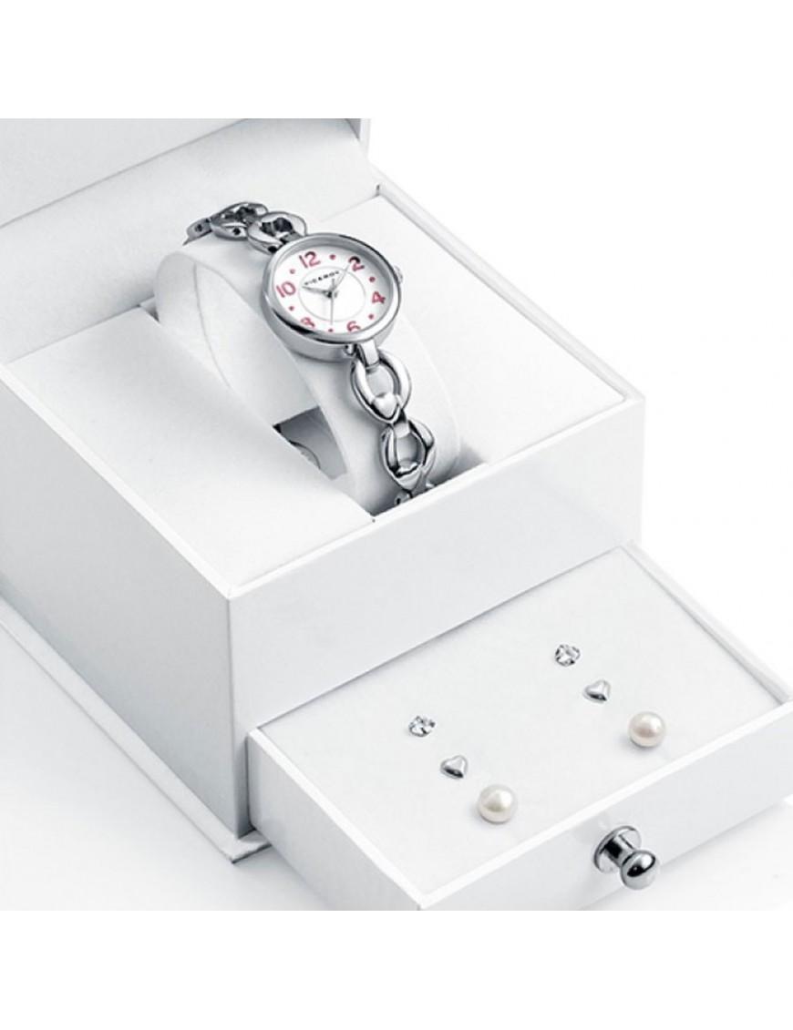 Pack Joyero Viceroy Reloj + Pendientes Niña 40946-05