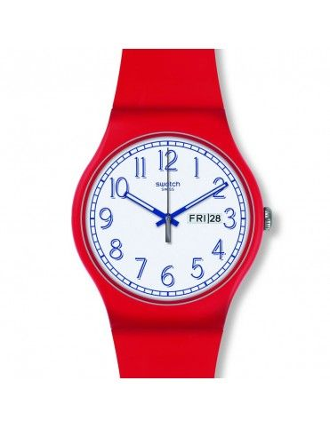 Reloj Swatch Hombre Red Me Up SUOR707