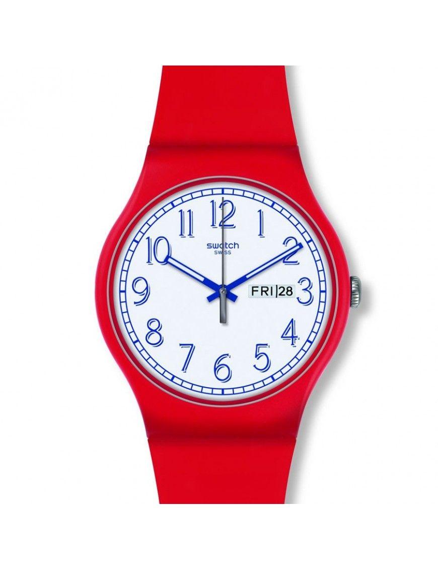 Reloj Swatch Hombre Red Me Up SUOR707