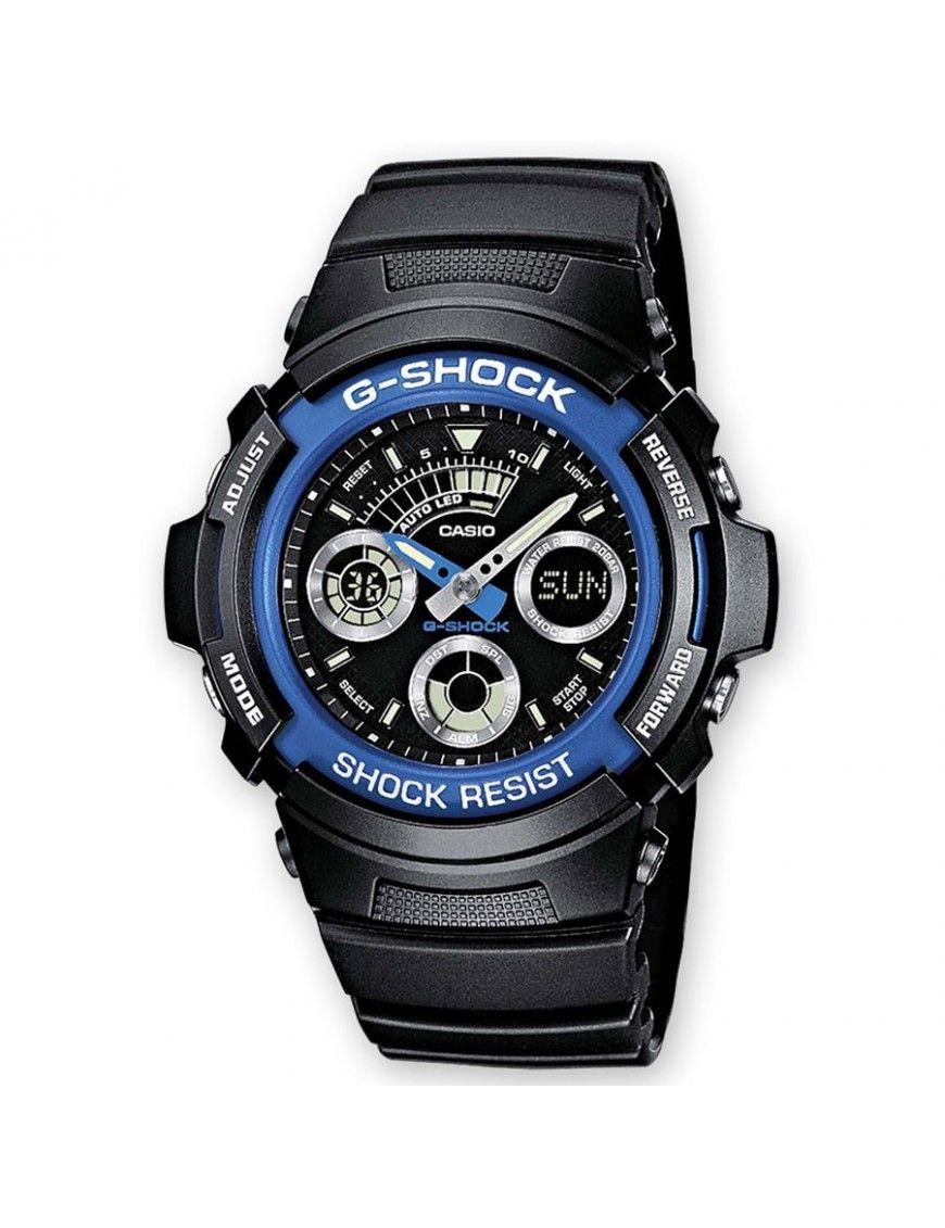 Reloj Casio G-Shock Hombre Cronógrafo AW-591-2AER