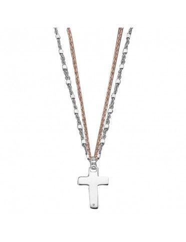 Collar Lotus Silver Plata Mujer LP1668-1/1