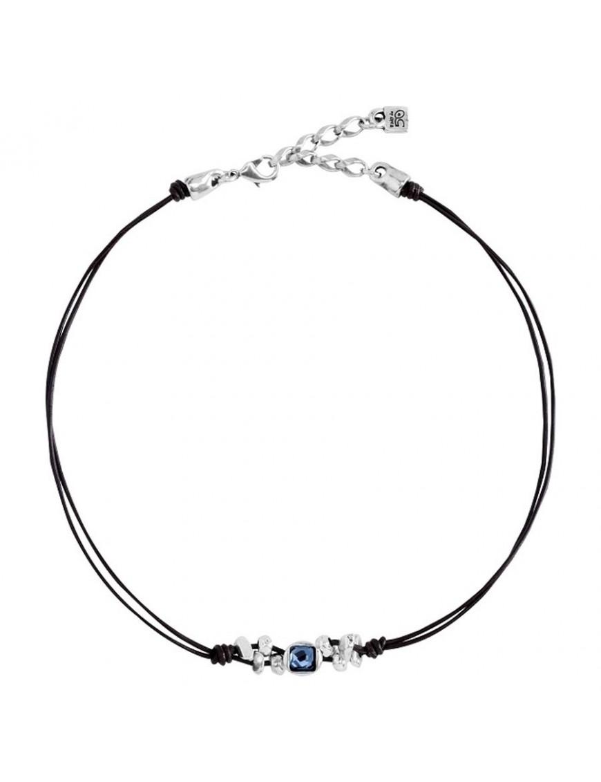 Collar Uno de 50 Metal Mujer Cosiche COL1092AZUMAR0U