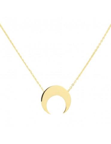 Collar Anartxy Acero Mujer Luna COA316