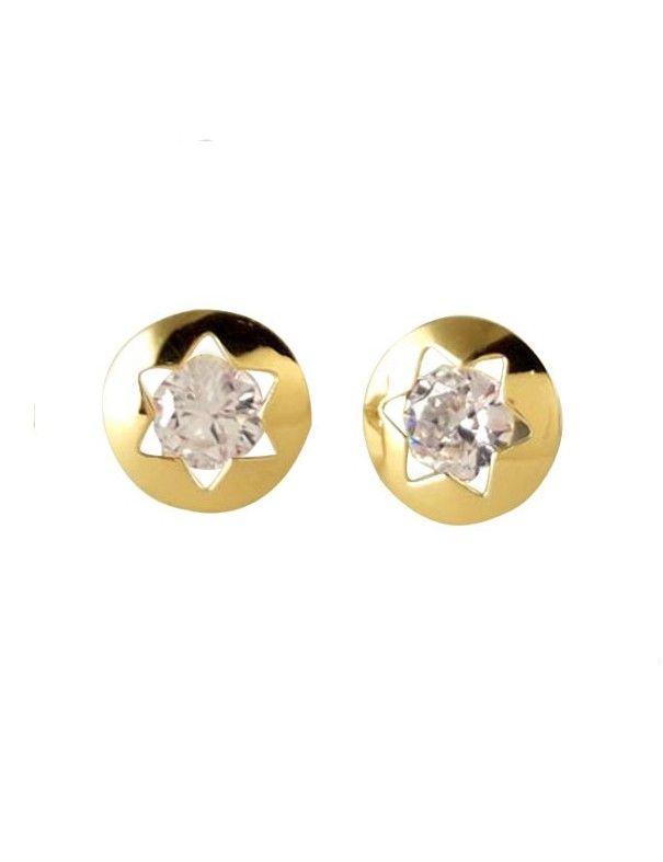 Pendientes Oro 18 Kts Niña 61A1261/2
