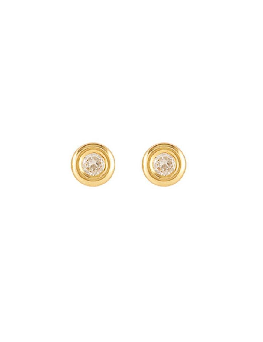 Pendientes Oro 18 Kts Niña 61A1704/6