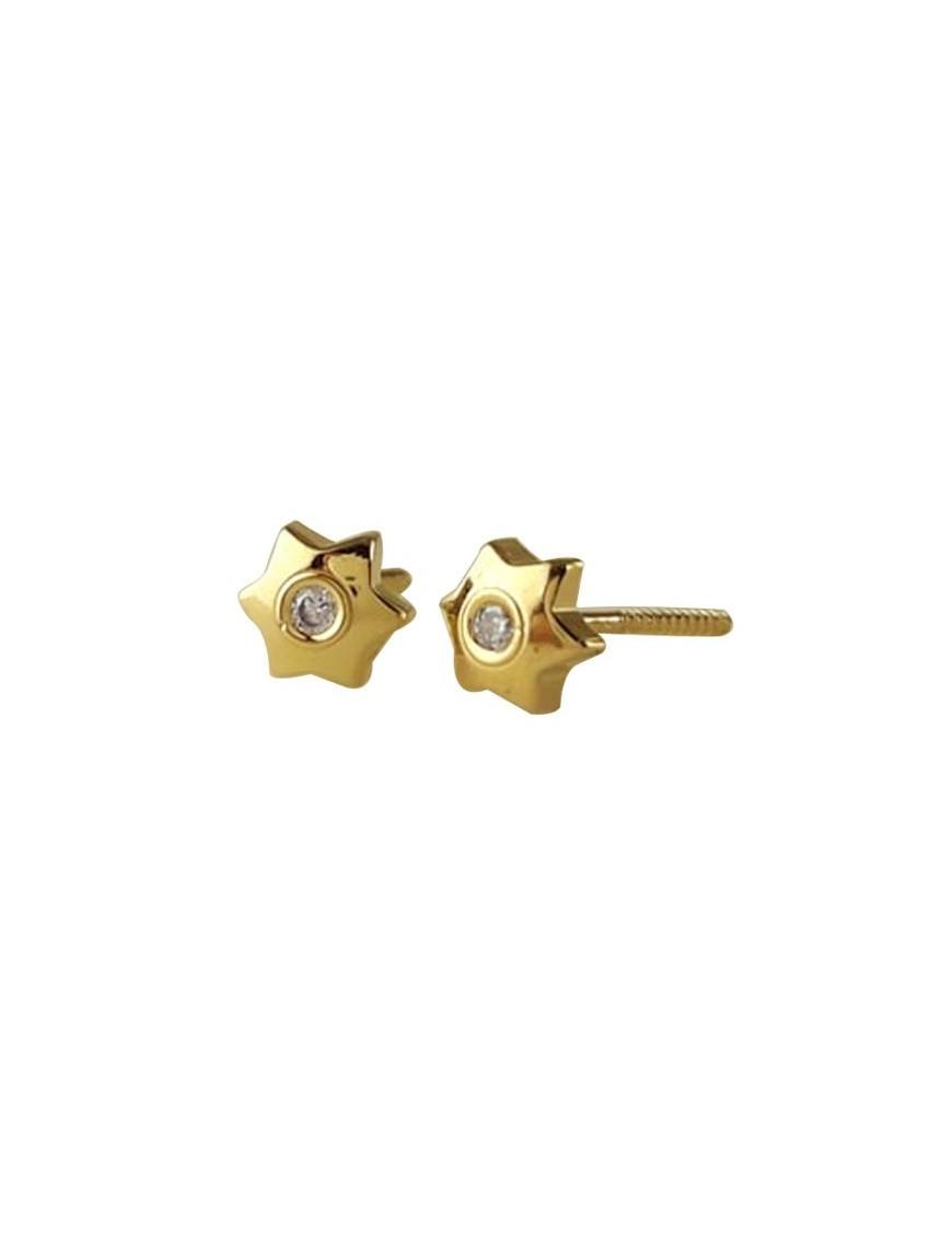 Pendientes Oro 18Kts Niña 61A3111/2