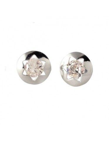 Comprar Pendientes Oro Blanco 18Kts Niña 61B1261/2 online