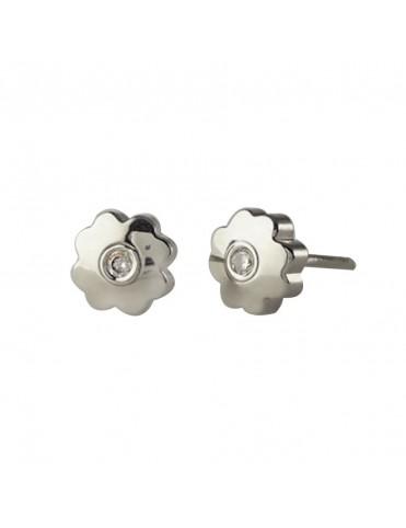 Comprar Pendientes Oro Blanco 18Kts Niña 61B3211/2 online