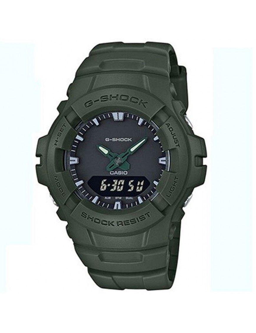 Reloj Casio G-Shock Hombre Cronógrafo G-100CU-3AER