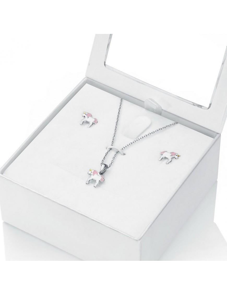 Pack collar y pendientes Viceroy Plata Niña 5026K000-99