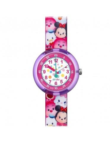 Reloj Flik Flak Niña Disney Tsum Tsum FLNP026