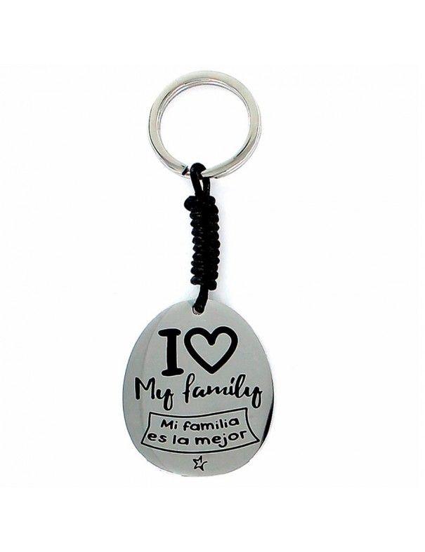 Llavero Acero Mi familia es la mejor 9095074