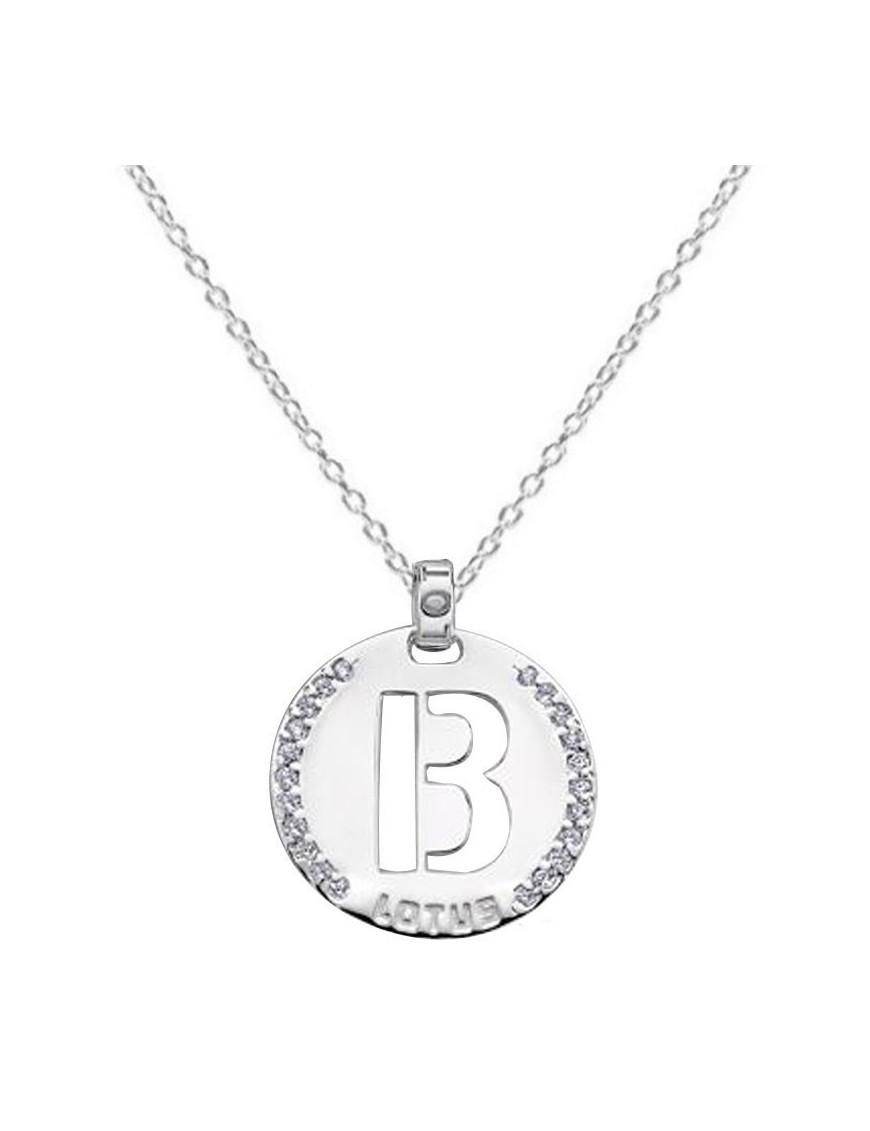 Collar Lotus Silver Plata Mujer LP1597-1/B