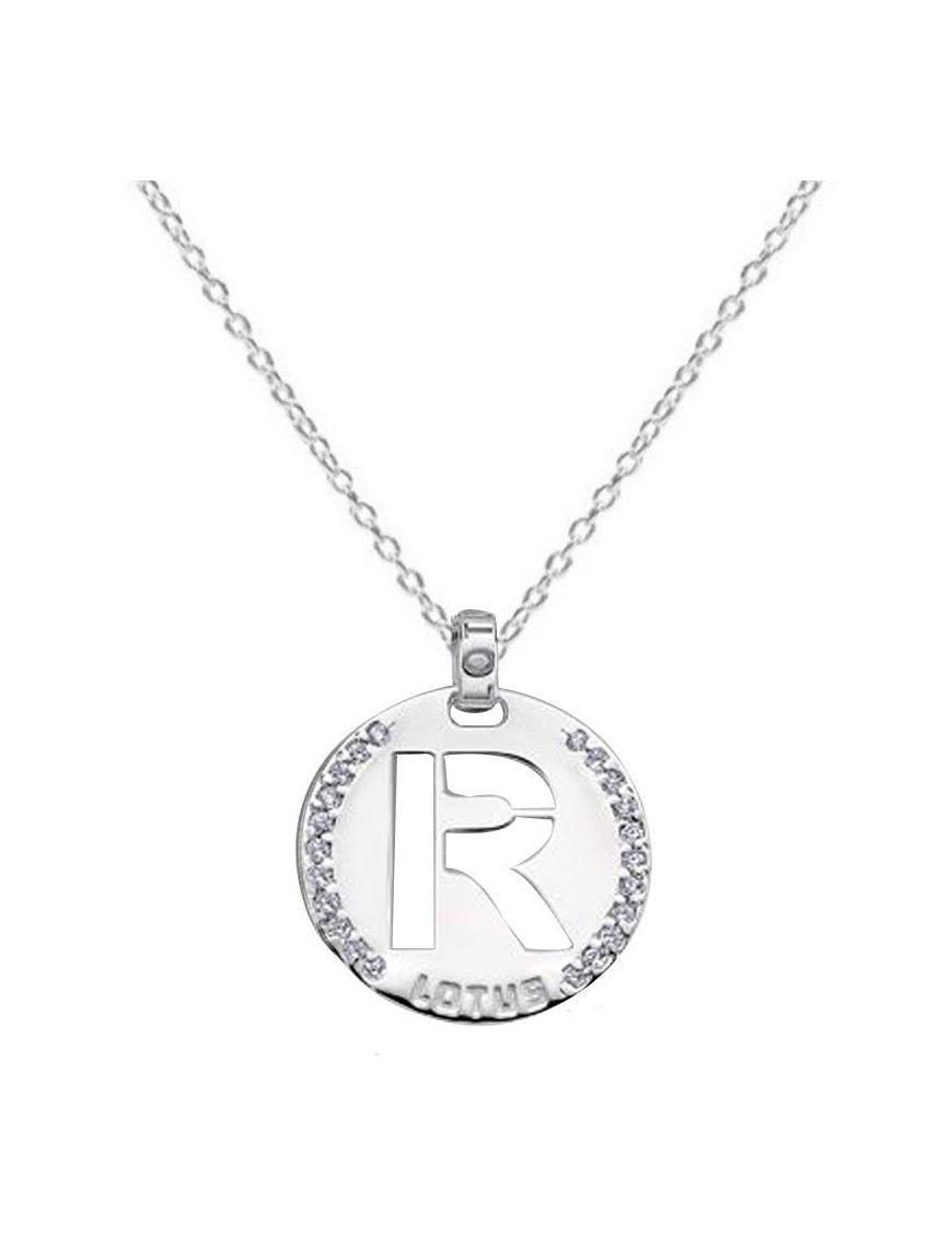 Collar Lotus Silver Plata Mujer LP1597-1/R