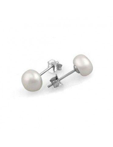 Comprar Pendientes Plata Mujer Perla WS00231/10 online