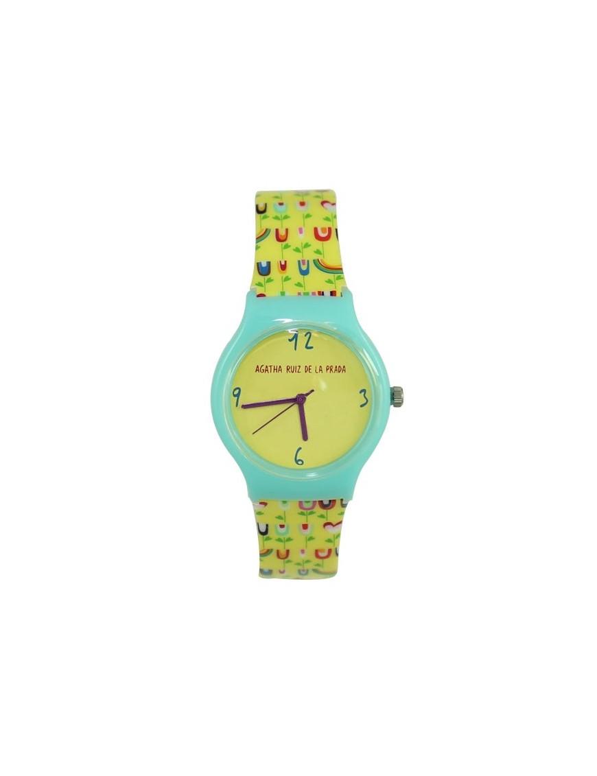 Reloj Agatha Ruiz de la Prada Niña Tulipanes Amarillos AGR165