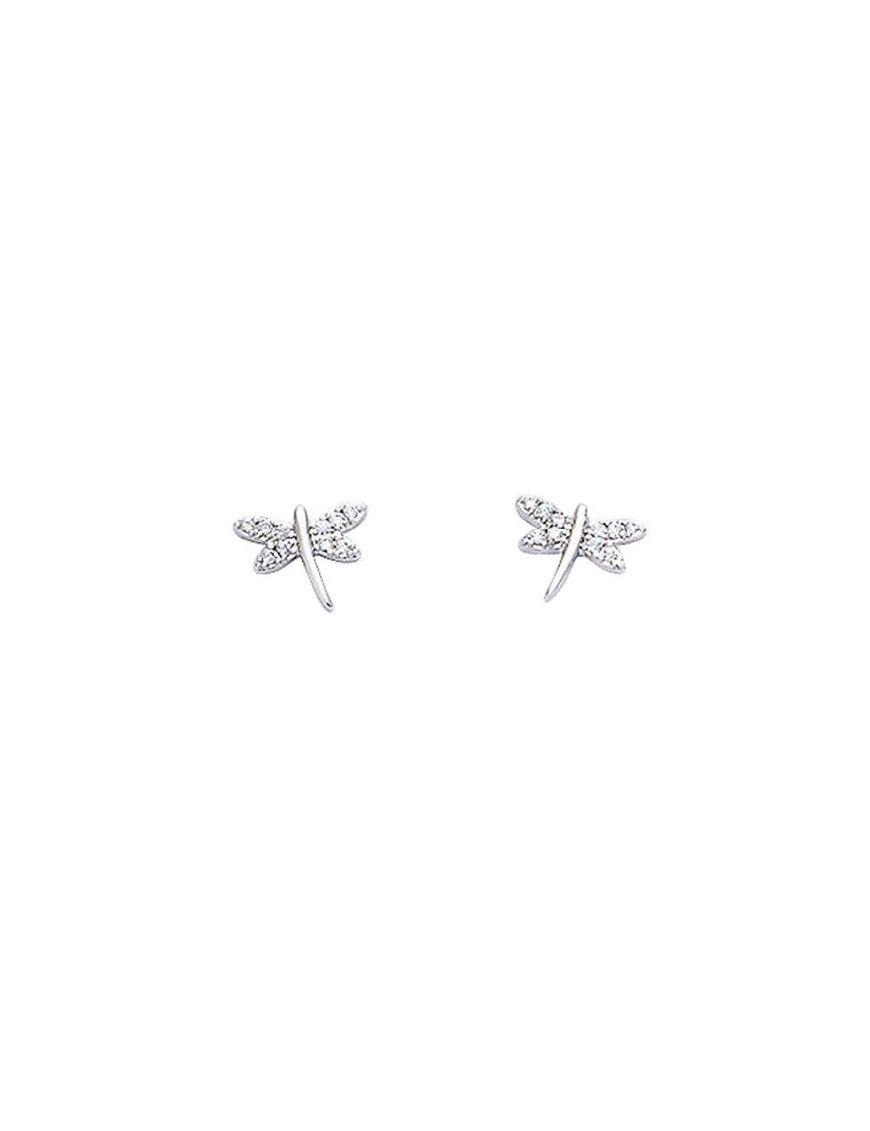 Pendientes Plata libélula mujer 21HR026CZ