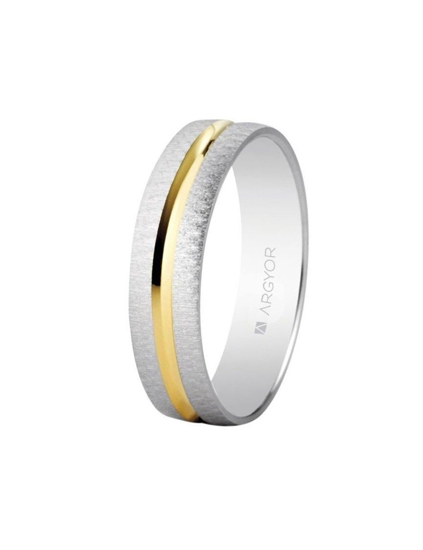Alianza Oro bicolor 18K 18-5240474