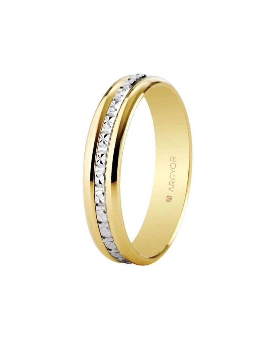 Alianza Oro bicolor 18K 18-5245463