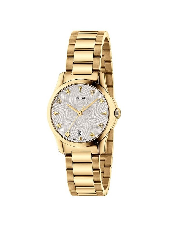 Reloj Gucci G-Timeless SM Silver Mujer YA126576