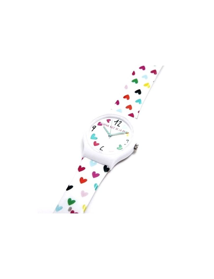 Reloj Agatha Ruiz de la Prada Niña Flip corazón AGR210