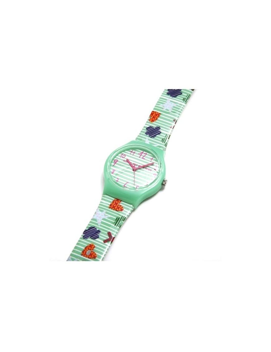 Reloj Agatha Ruiz de la Prada Niña Flip Rayas AGR206