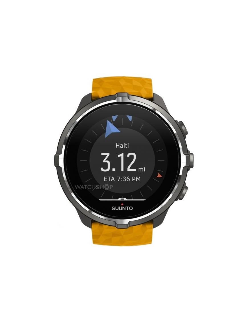 Reloj Suunto Spartan Sport Wrist HR Baro amber hombre SS050000000