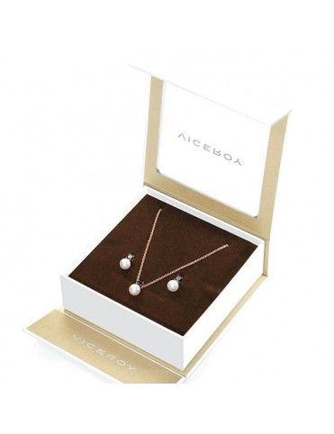 Comprar Pack Pendientes y collar Viceroy Plata Mujer 21018K000-30 online