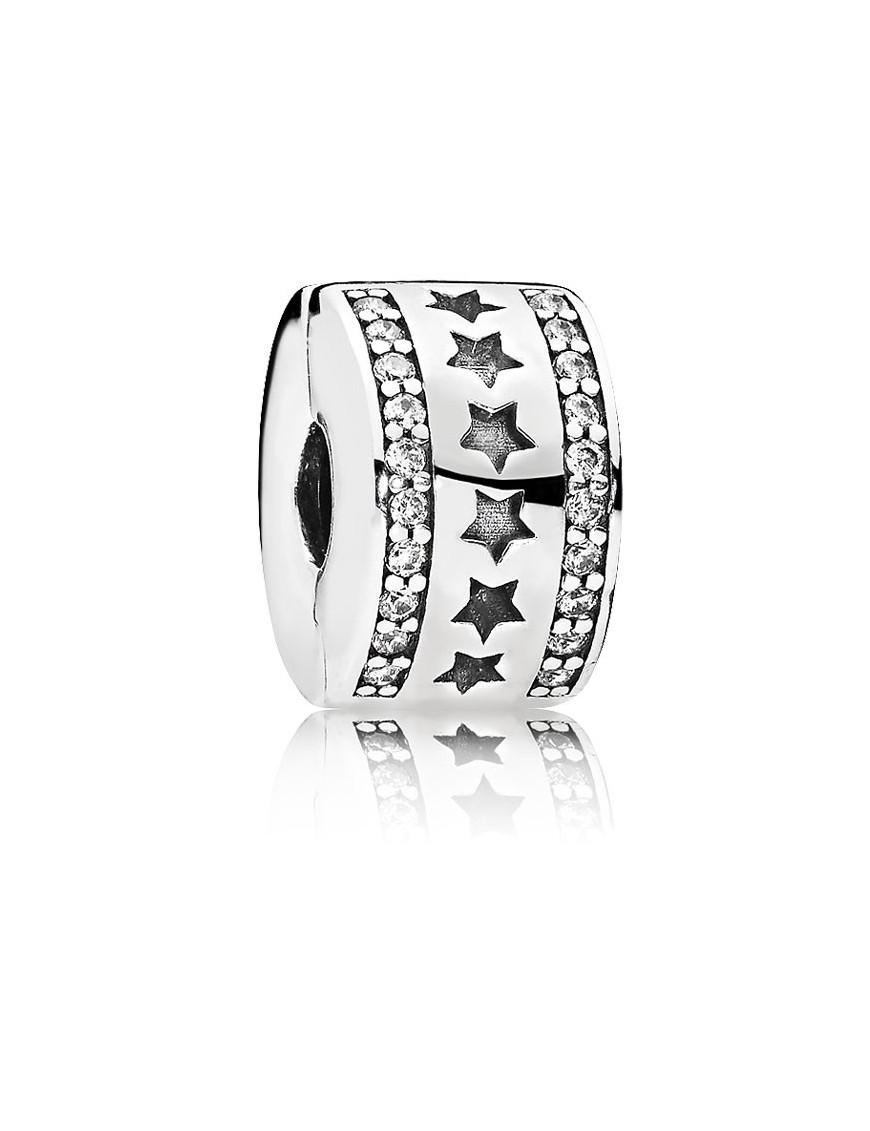 anillo pandora estrellas circonitas