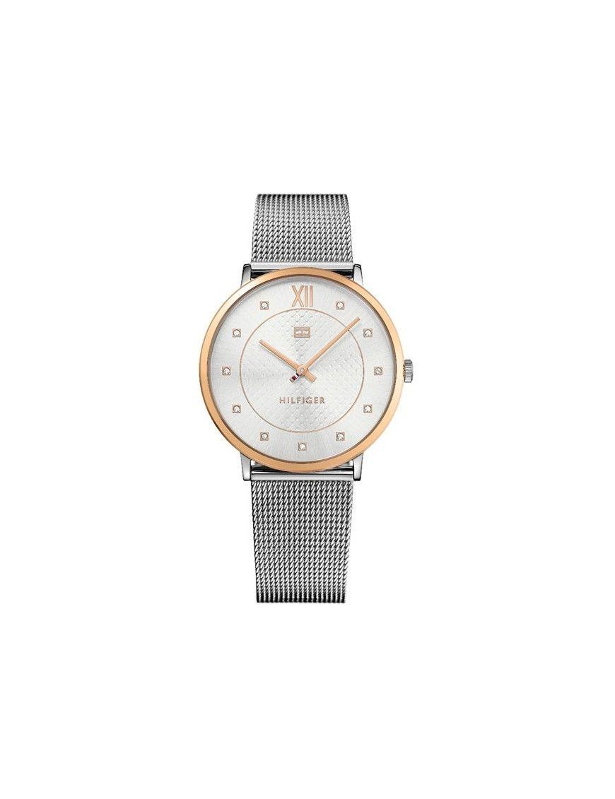 2ea27f10889b Reloj Tommy Hilfiger Mujer 1781811 analógico de dos agujas con logo