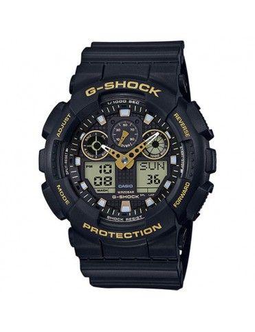 Reloj Casio G-Shock Hombre Cronógrafo GA-100GBX-1A9ER