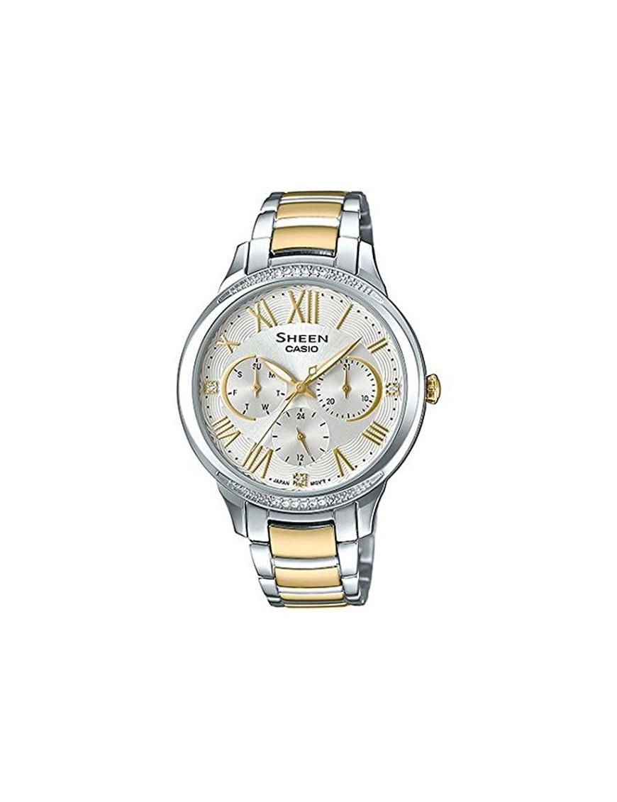 f3eb5774eb85 Reloj Casio mujer multifunción SHE-3058SG-7AUER colección Sheen
