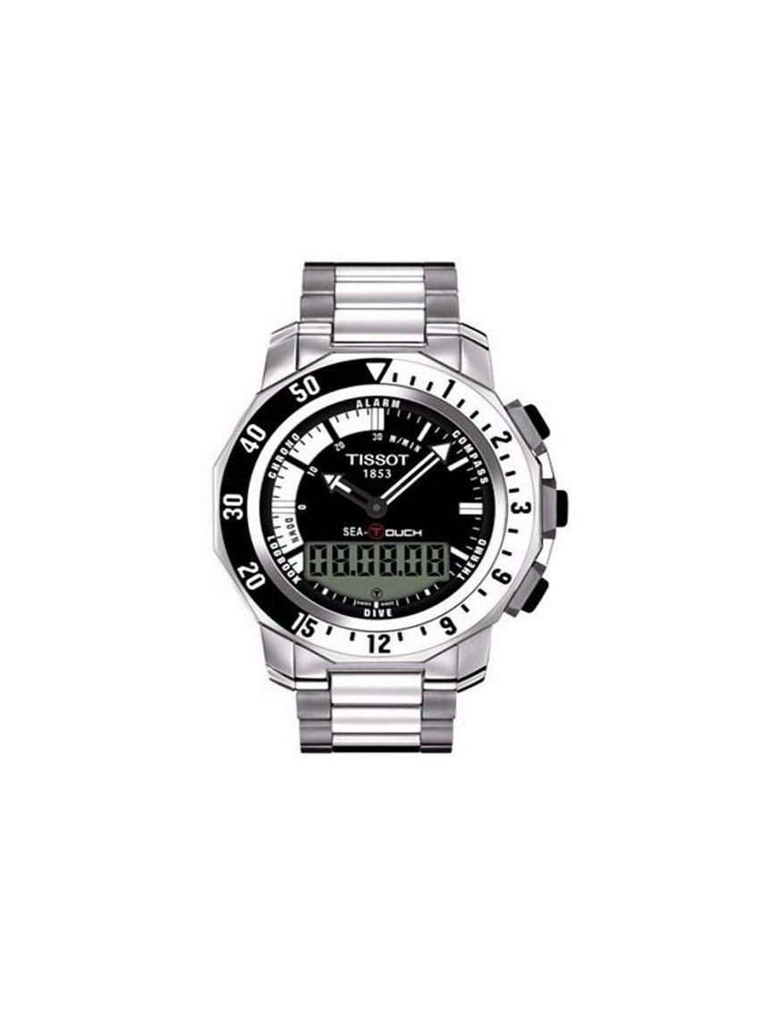 Reloj Tissot Acero Táctil Crono Hombre T0264201105100